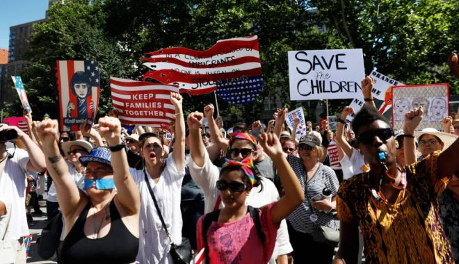 Foto: SUA vine cu măsuri drastice în legătură cu migrația