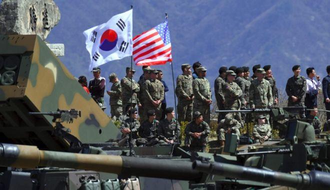 Foto: SUA și Coreea de Sud amână exercițiile militare comune