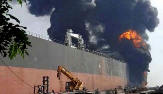Galerie FOTO-VIDEO / 7 navigatori MORȚI în incendiul de pe un tanc petrolier. Unde s-a petrecut TRAGEDIA - tanc-1589375056.jpg
