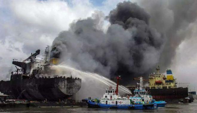 Galerie FOTO-VIDEO / 7 navigatori MORȚI în incendiul de pe un tanc petrolier. Unde s-a petrecut TRAGEDIA - tanc1-1589374994.jpg