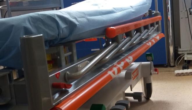 Foto: Pacienții  vor fi cărați cu tărgi ultraperformante