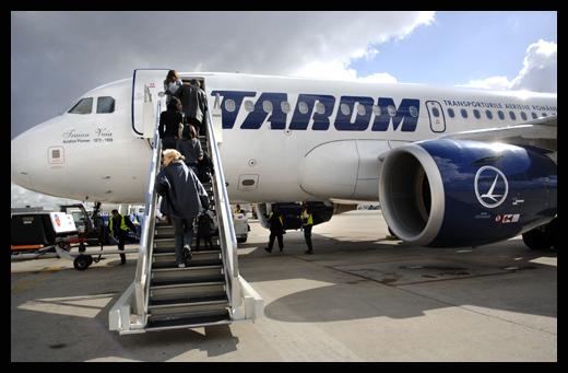 Foto: TAROM: Două zboruri spre Grecia, anulate astăzi