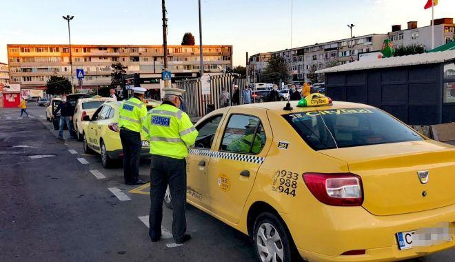 Taximetriștii constănțeni, verificaţi de Poliţia Locală - taxiverificati-1603196991.jpg
