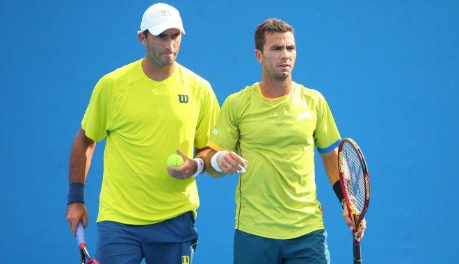 Foto: Tecău și Rojer au pierdut primul meci de la Turneul Campionilor