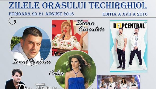 Foto: Primăria Techirghiol  a pregătit două zile de sărbătoare pentru localnici  și turiști