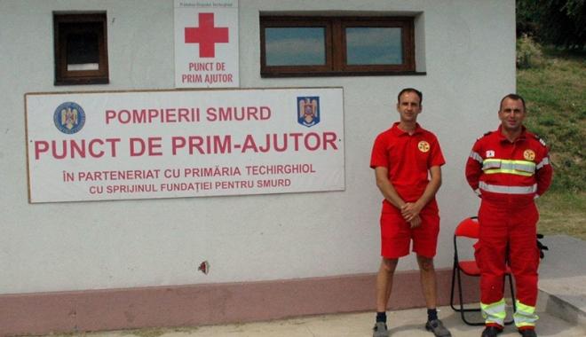 Foto: Primăria Techirghiol, pregătită să acorde primul-ajutor turiștilor