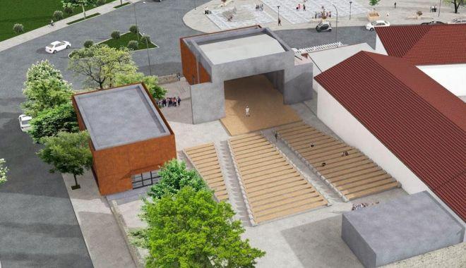 Foto: Teatrul de Vară din Techirghiol, modernizat cu fonduri europene