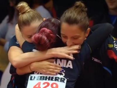 Foto: România, CAMPIOANĂ EUROPEANĂ la tenis de masă! AUR pentru fetele noastre, după ce au învins Germania