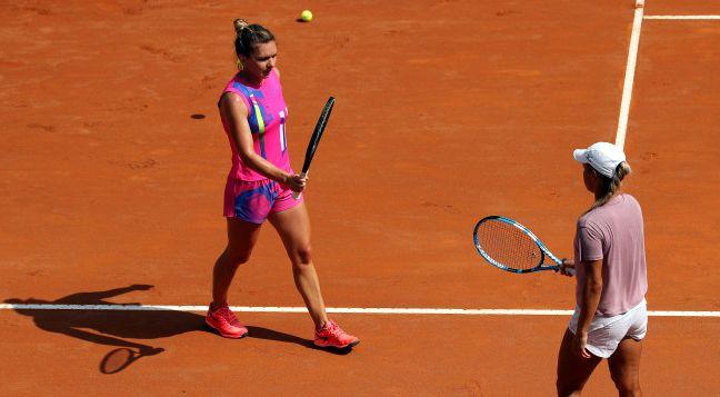 Simona Halep o înfruntă pe Garbine Muguruza, în semifinalele turneului de la Roma - tenis-1600596601.jpg