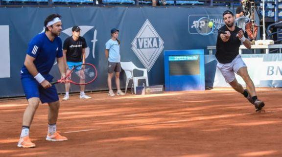 Foto: Tenis / Florin Mergea, sfert-finalist în turneul de la Sibiu