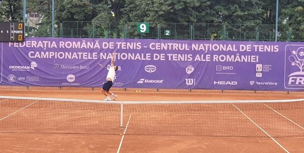Foto: Tenis / Finală sută la sută constănţeană, la Campionatul Naţional