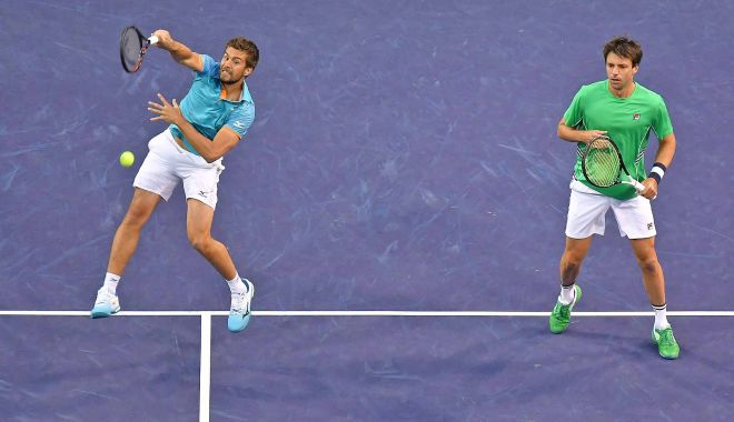 Foto: Nikola Mektic și Horacio Zeballos, campioni în proba de dublu, la Indian Wells
