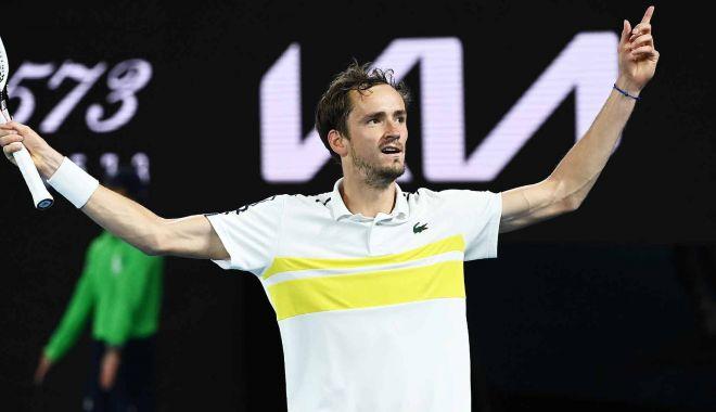 Tenis, Australian Open / Daniil Medvedev vs. Novak Djokovic, în marea finală de duminică - tenismedvedev-1613819065.jpg