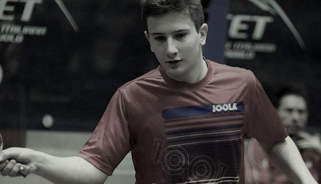 Tragedie! A murit, la numai 19 ani, un jucător de tenis de masă din România - tenisradoi312-1607009647.jpg