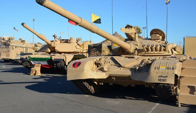 Foto: Tensiuni în Golf. Kuweitul intensifică pregătirea trupelor sale