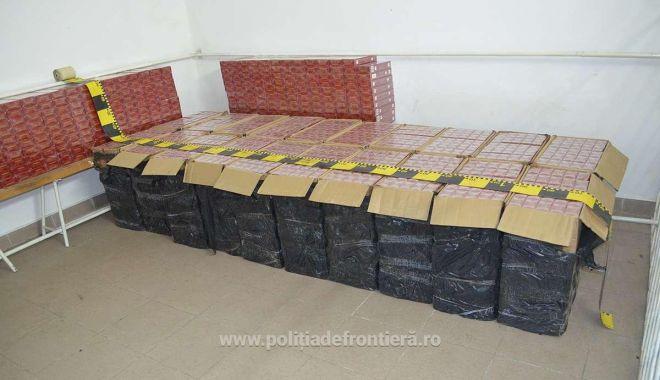 Foto: Țigări în valoare de peste 166.000 lei, confiscate la frontiera de nord
