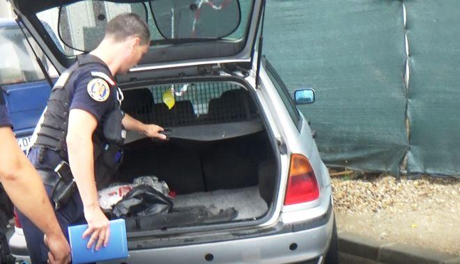 Foto: Țigări de contrabandă, confiscate la ieșirea din Portul Constanța