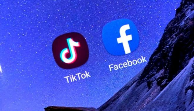 Foto: Război între Facebook și TikTok. Americanii cer interzicerea aplicației chineze