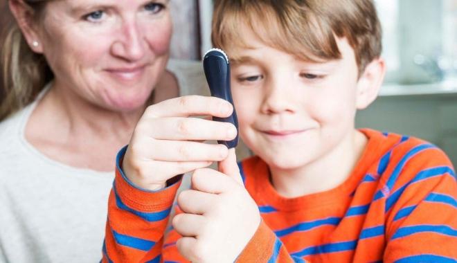 Foto: Copiii cu diabet insulinodependent pot intra însoțiți de părinți la ore