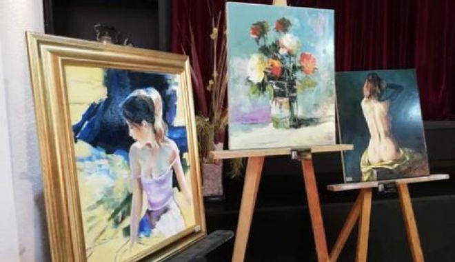 Foto: Tinerii artiști organizează  o nouă expoziție online