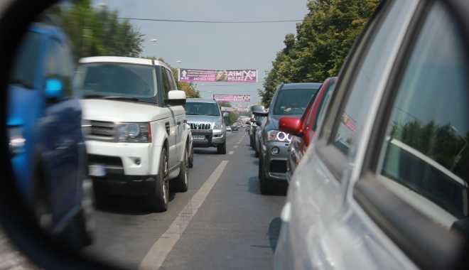 Foto: CNADNR se joacă cu nervii șoferilor! Circulația între Vama Veche și Agigea va fi întreruptă temporar