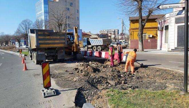 Foto: Traficul rutier de pe bulevardul Mamaia va suferi modificări
