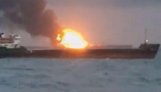 Foto: Tragedie pe Marea Neagră! 14 navigatori și-au pierdut viața, iar alți cinci au fost dați dispăruți,