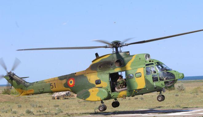 Trageri la Capu Midia. Militarii Escadrilei de Elicoptere,  la antrenament - tragerilacapulmidia-1563539804.jpg