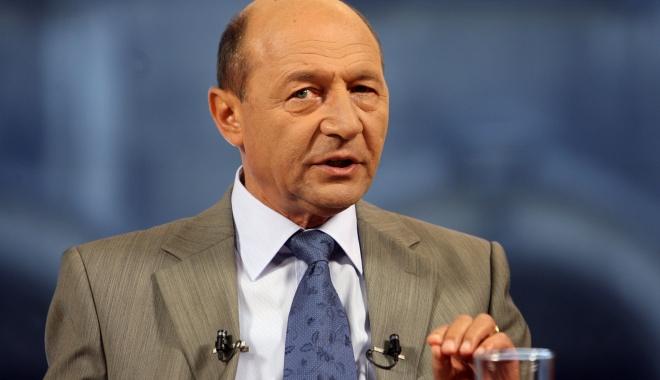 Foto: Traian Băsescu, la Parchetul General