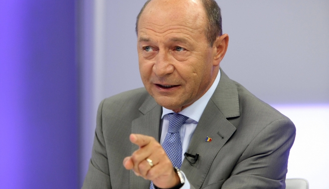 Foto: Băsescu, despre propunerea ANAF privind operațiunile cu cardul: Este ideea SRI care vrea să supravegheze toată populația