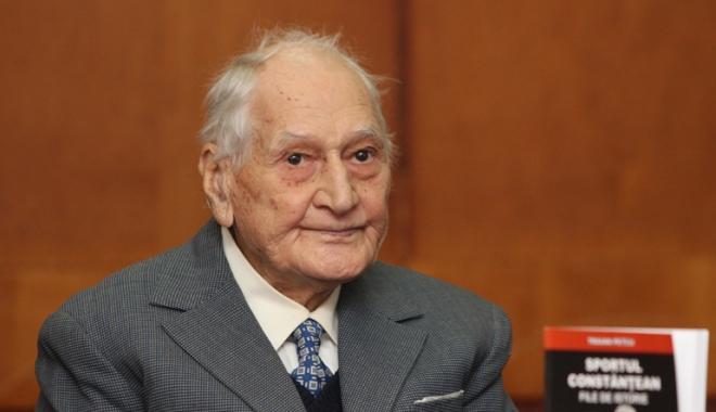 Foto: Profesorul Traian Petcu, gir favorabil pentru a deveni cetățean de onoare al Constanței