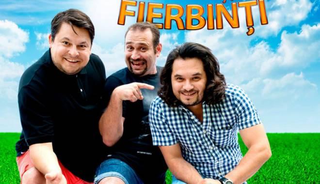 """Foto: """"Trei băieți fierbinți"""", pe scena  de la Harlequin"""