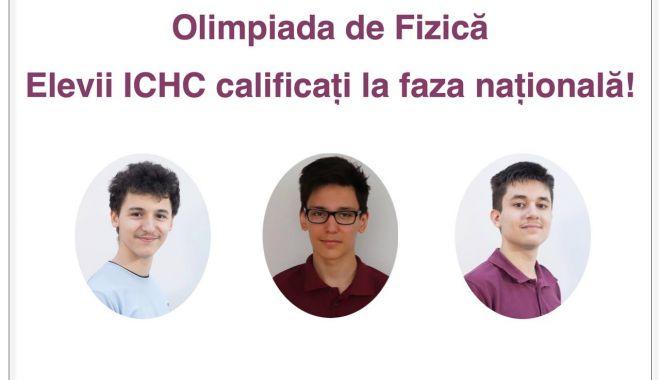 Trei elevi de la Liceul de Informatică Constanţa, calificaţi la faza naţională a Olimpiadei de fizică - treielevi-1620892321.jpg