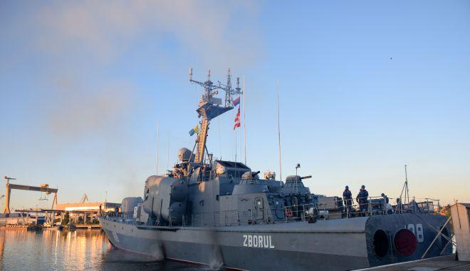 """Foto: Trei nave militare românești, la exercițiul multinațional """"Breeze 20"""""""