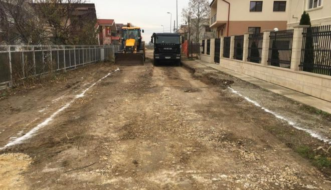 Foto: Trei străzi din cartierul Baba Novac, construite de la zero