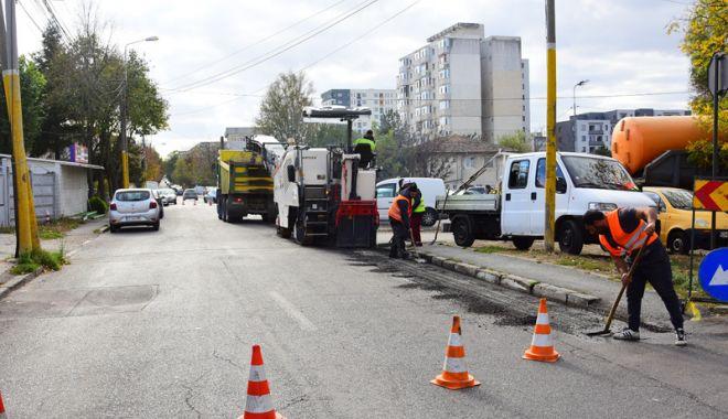 Foto: Atenție, șoferi!  Trei străzi din Constanța,  închise circulației