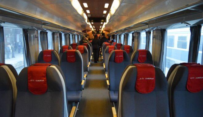 Foto: Condiții mai bune pentru cei care călătoresc cu trenul