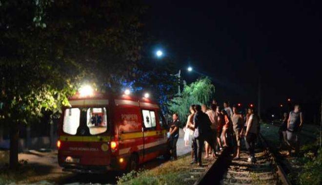 ACCIDENT CUMPLIT ÎN CONSTANȚA! Persoană TĂIATĂ DE TREN - tren-1567881725.jpg