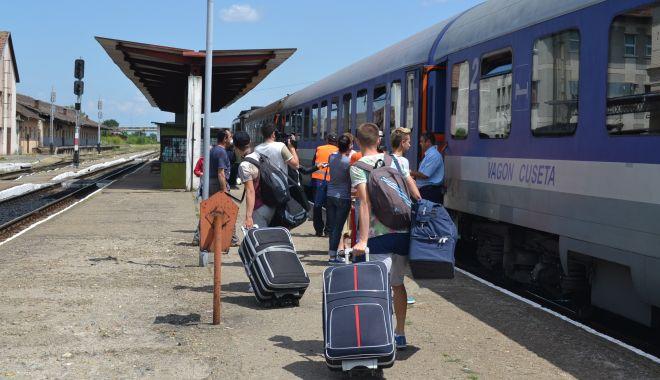 Foto: Trenuri suplimentare spre litoral