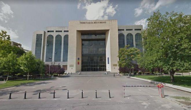 Foto: Alertă cu bombă la Tribunalul București. Instituția a fost evacuată