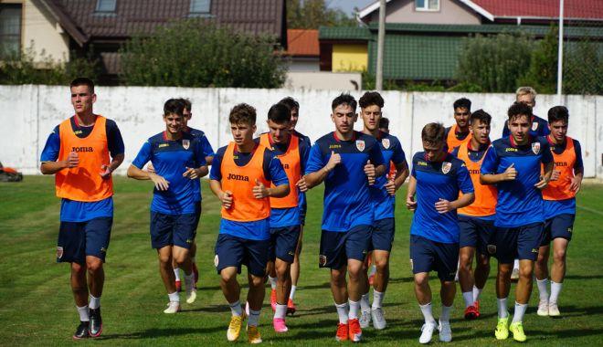 Tricolorii U19, pregătiri pentru amicalul cu Dinamo - tricolorii-1602092089.jpg