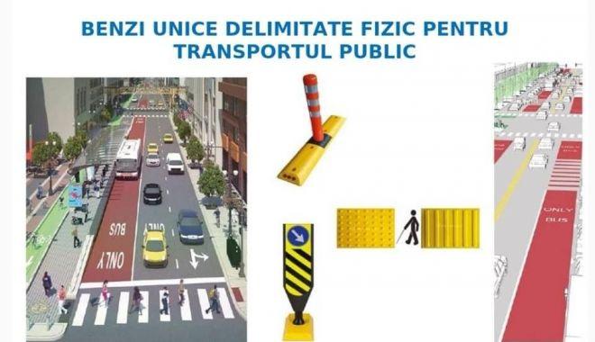 Foto: Benzi pentru autobuze, piste de biciclete și fără mașini parcate, pe bulevardul Alexandru Lăpușneanu