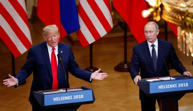 Foto: Trump și Putin s-ar putea întâlni din nou la Helsinki, anul viitor