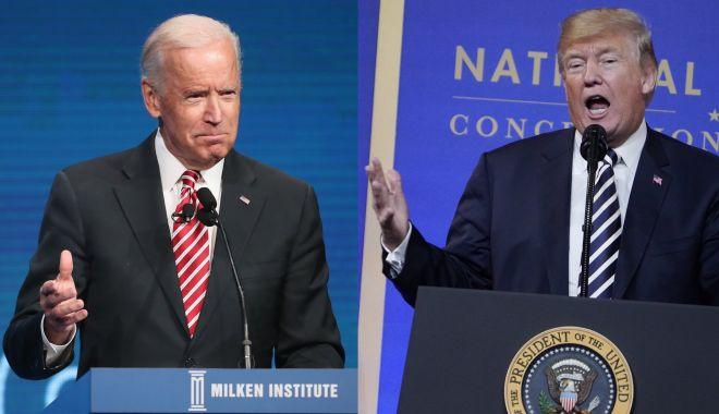 Foto: Trump îl atacă din nou pe Biden, care încearcă să își relanseze campania