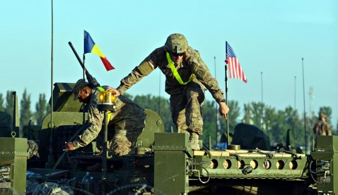 Foto: Americanii trimit noi trupe în România, în ianuarie