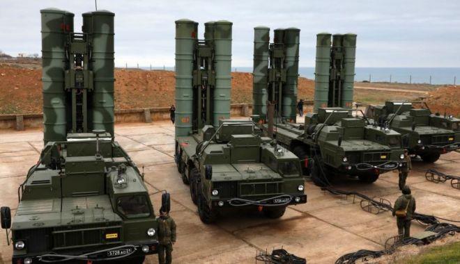 Foto: Turcia nu va renunța la achiziția de rachete S-400 din Rusia