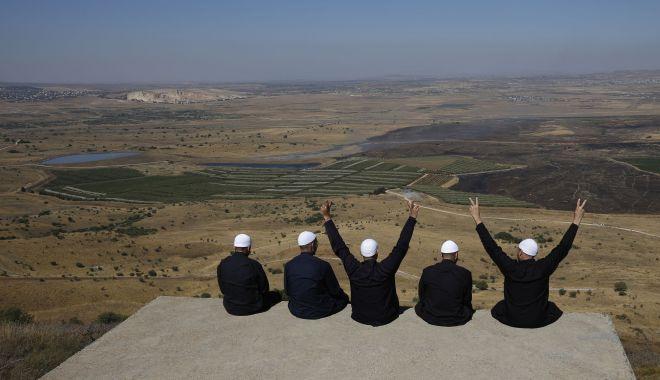 Foto: Turcia va sesiza Națiunile Unite în legătură cu problema Înălțimilor Golan