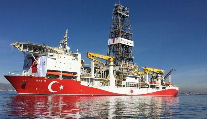 Foto: Turcia va continua forajul din apele Ciprului, în pofida criticilor internaționale