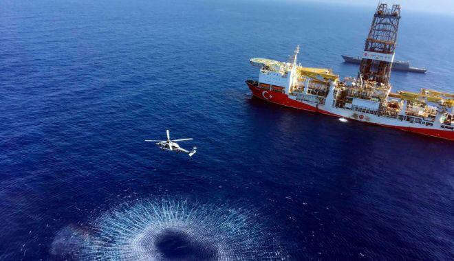Foto: Turcia spune că va continua activitățile de foraj în largul Ciprului