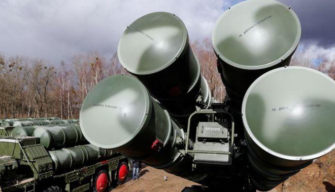 Foto: Turcia nu a făcut nicio promisiune privind instalarea unor sisteme de apărare S-400
